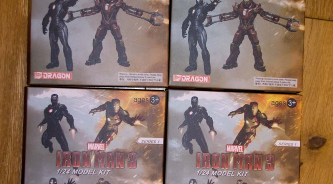 1/24 Scale Iron Man Kits by Dragon